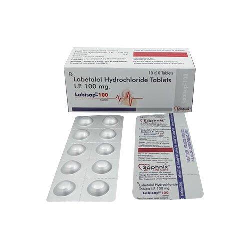Labetalol Hydrochloride Tablet I.P 100 Mg