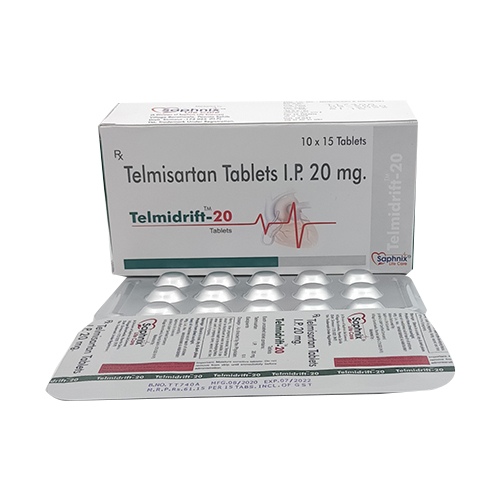 Telmisartan Tablet I.P 20 mg.